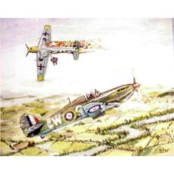 Aviatic Water Color Hurricane&Luftwafe  #2379697