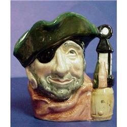 Doulton Character  Jug Smuggler D6619 #2379699