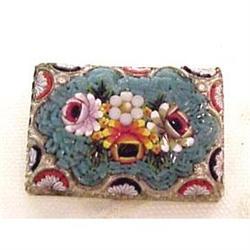 Large Floral Mosaic Brooch #2379713