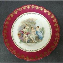 LOVELY  ANTIQUE PLATE - PRETTY LADIES #2379731