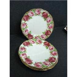 OLD ENGLISH ROSE Set of Plates #2379746