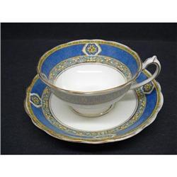 Paragon China Cup&Saucer - BLUE BORDER #2379749