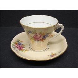 Grafton China Cup & Saucer - ART DECO #2379753