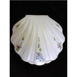 VINTAGE CELLULOID HAND PAINTED SHELL STYLE #2379758
