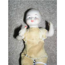 """6"""" Molded Bottle Bisque Baby Restitched body #2379782"""