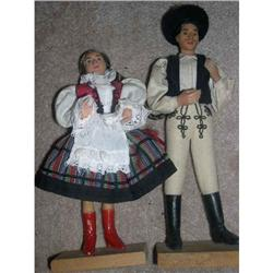 Romania Couple With Stands #2379783