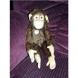 Steiff Jocke Monkey with tag and button #2379786
