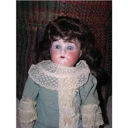 """German Bisque Doll 14"""" #2379790"""