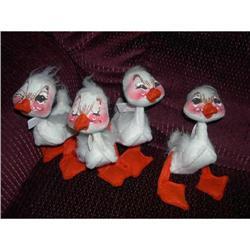 """1970  4 - 5"""" Annalee Ducks ( Too Cute)  #2379797"""
