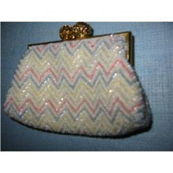 French beaded change purse hand made! #2379808