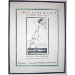 Vornehmstes Institut - German/Original 1914 #2379839