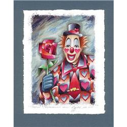 "Avant-Garde's lithograph ""Clown in love"" #2379844"