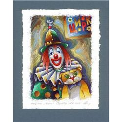 "Avant-Garde's lithograph ""Circus"" by Saratov #2379845"