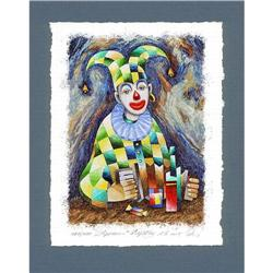 """Avant-Garde's lithograph """"Harlequin"""" by Saratov#2379846"""