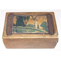 Art Nouveau box - retro, vintage #2379880