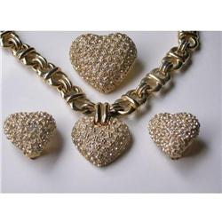 HEART THROB! CINER Puffy Heart PARURE:  High#2379888