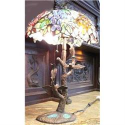 Stained Glass Leaded Glass Lamp #2379894