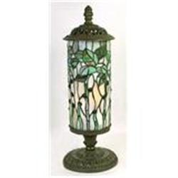 BUTTERFLY SHADE LAMP / LEAD GLASS / NEW ACCENT #2379952