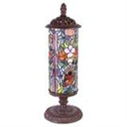 BAROQUE GLASS LAMP / NEW #2379958