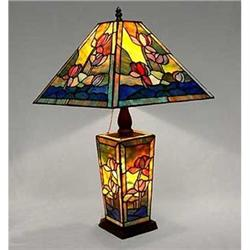 GLASS LILY POND LAMP / NEW LIGHTING #2379961