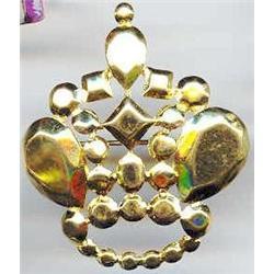 SALE Trifari gold Tone  Crown Pin #2379994