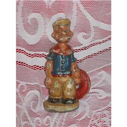 "Vintage Cast  Iron "" Popeye"" Bank #2380003"