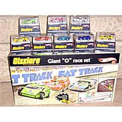 Hot Wheels Sizzlers 2006 Race Track 9 Cars #2380007