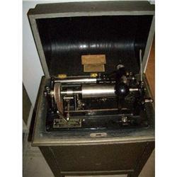 Edison Dictaphone Shaving Machine Model 7 1925 #2380008