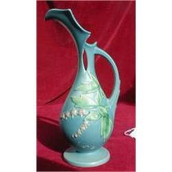 ROSEVILLE Bleeding HEART Ewer 972-10 BLUE- #2380059