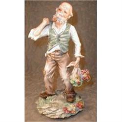 MOLLICA Capodimonte SIGNED Figurine -LARGE- #2380063