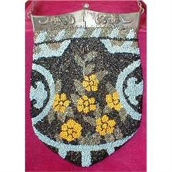 Victorian BEADED Bag ANTIQUE - Beautiful - #2380087