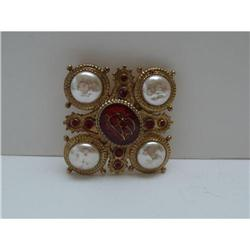 Butler and Wilson Emblem Brooch #2380172