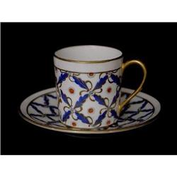 Porcelaine de Paris Demitasse and Saucer Set #2380174