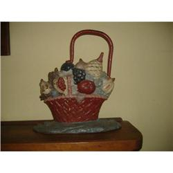 Basket of Fruit Doorstop #2380178