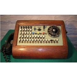Antique Call Center with Roble?s box #2380190