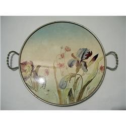 Majolica Tray Art Noveau #2380191