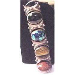 Heavy Mexican sterling bracelet #2380208