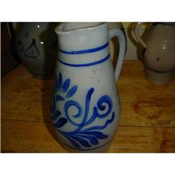 French jug pitcher from Alsace, circa 1920 #2380233