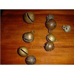 Set of 9 old bells #2380234