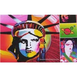 RARE PETER MAX OUT OF PRINT! LIBERTY EXIBITION #2380250