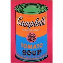 HUGE ANDY WARHOL OFFICIAL AUTHORIZED CAMPBELLS #2380254