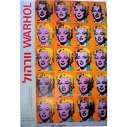 RARE!!! ANDY WARHOL ISRAELI ART EXHIBITION #2380257
