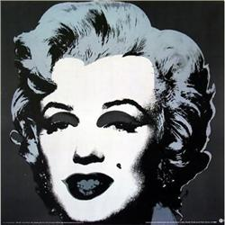 ANDY WARHOL, RARE OFFICIAL MARILYN MONROE #2380258
