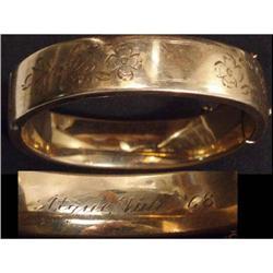Antique 12kt rose GOLD Filled  bracelet #2380261