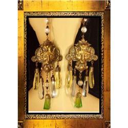 DRAMA! Vintage Renaissance Mythical earrings #2380277
