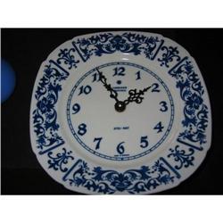 JUNGHANS electronic Porcelain Clock!  #2380299