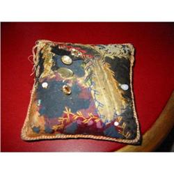 Antique Pin Cushion with 7 rare hat pins! #2380302