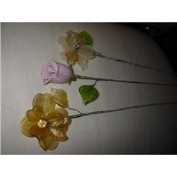 """Murano Flower Stems mkd """"La Murina"""" ! #2380307"""