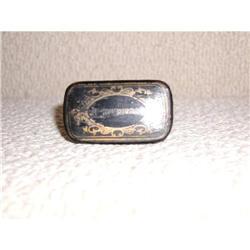 English Paper Mache Snuff Box #2380332