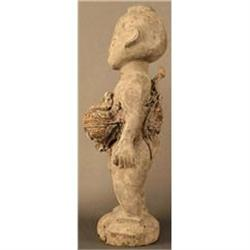 Beautiful Fon Tribe Power Figure with Child #2380339